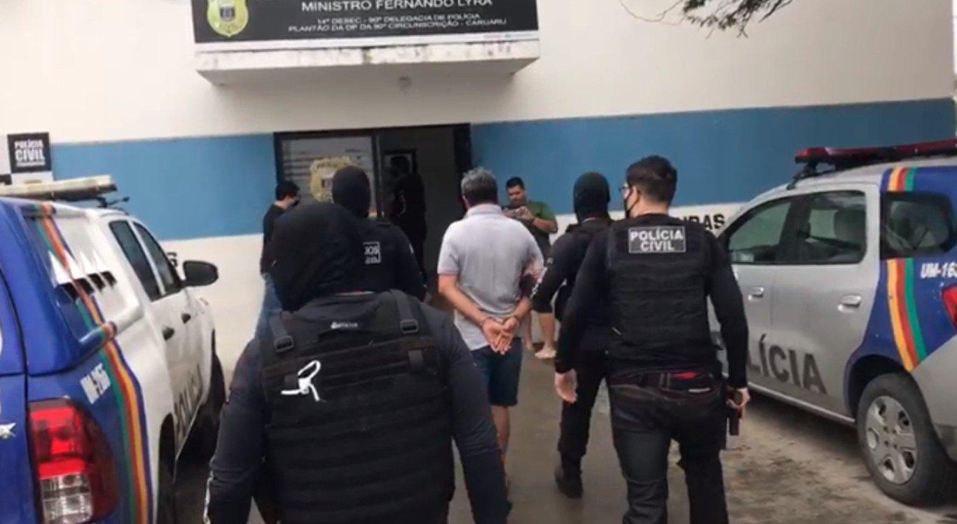 Operação Anjos da Guarda em Caruaru, no Agreste