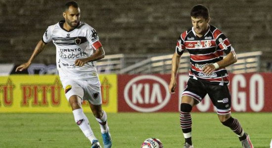 Santa Cruz perde para o Botafogo-PB e caminha a passos largos rumo a Série D