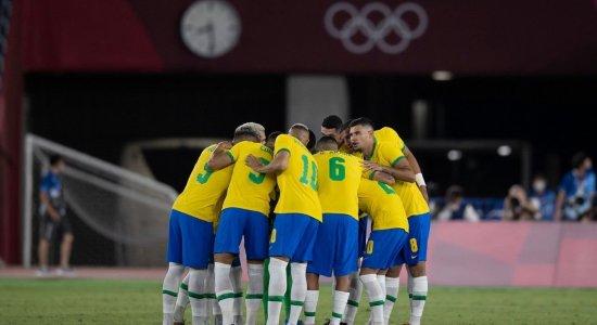 Seleção brasileira enfrenta a Costa do Marfim, pelos Jogos Olímpicos de Tóquio