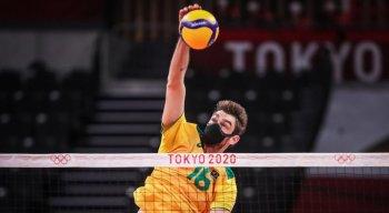 Lucão foi titular na estreia do Brasil nos Jogos Olímpicos de Tóquio contra a Tunísia.