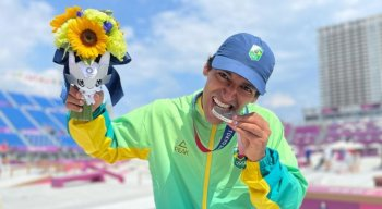 Primeira medalha brasileira na Olimpíada de Tóquio 2020 veio do skate
