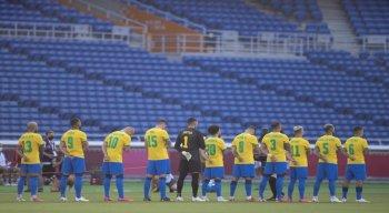 Seleção brasileira ante a Costa do Marfim