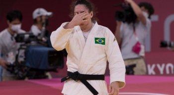 Mayra Aguiar vence bronze no judô nas Olimpíadas de Tóquio