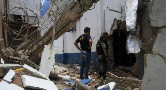 Após a explosão da Brinks, armas e munições foram apreendidas