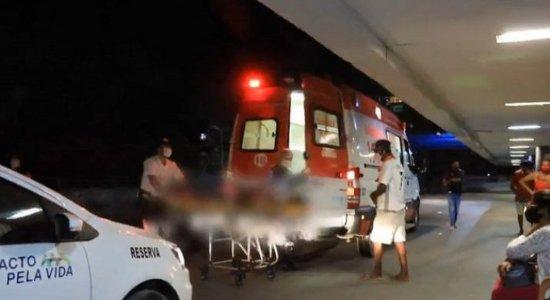 Mulher é espancada com cano de ferro durante confusão na Zona Norte do Recife