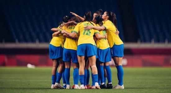 Seleção brasileira feminina encara o Canadá, pelos Jogos Olímpicos