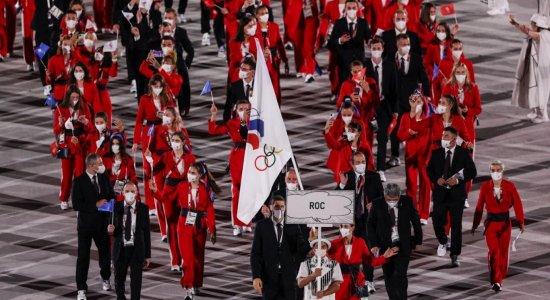 Comitê Olímpico Russo (ROC) são os atletas da Rússia que não se envolveram com doping