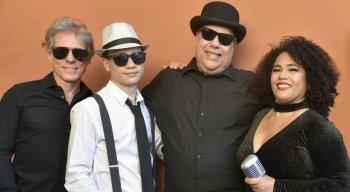 Uptown Blues Band faz show de jazz no RioMar Recife em homenagem ao Dia dos Pais