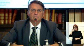 Live de Bolsonaro nesta quinta-feira (29)