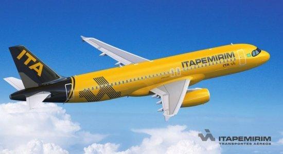Itapemirim oferece despacho grátis de bagagens; saiba mais sobre companhia que começa a voar no Recife