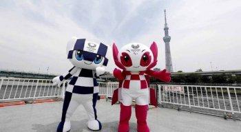 Miraitowa e Someity são as mascotes dos Jogos Olímpicos e Paralímpicos