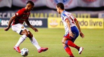 Sport venceu o Bahia, em Salvador