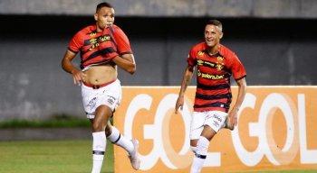 Mikael marcou o gol da vitória do Sport em cima do Bahia