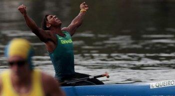 Isaquias Queiroz conquistou três medalhas nos Jogos do Rio, em 2016