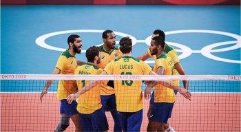 Seleção brasileira de vôlei vai em busca de vaga nas semifinais das Olimpíadas