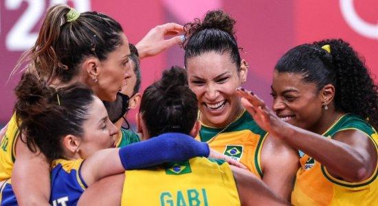 Vôlei feminino tem realizado uma boa campanha nas Olimpíadas de Tóquio