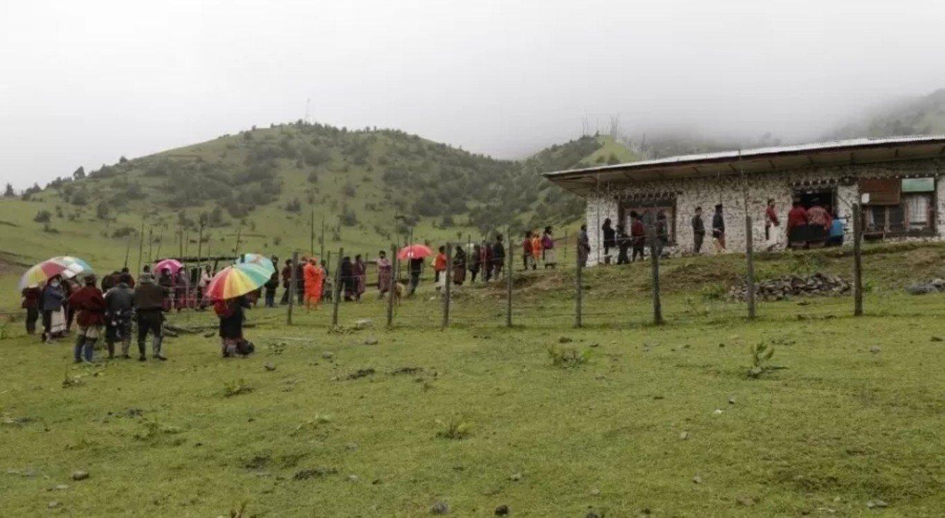 Vacinação contra a Covid-19 no Butão