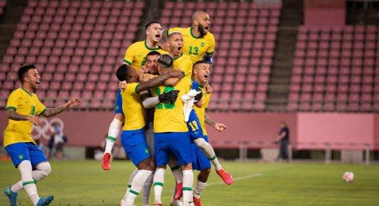 Futebol masculino: Brasil vence o México nos pênaltis e está na final das Olimpíadas de Tóquio