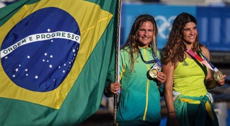 Brasil venceu ouro na vela