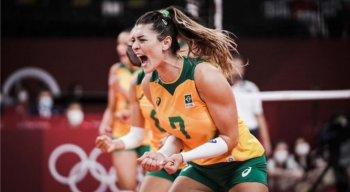Jogadora Rosamaria foi destaque na vitória do Brasil contra as russas