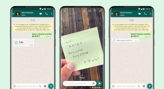 WhatsApp lançou novo recurso de envio de imagens