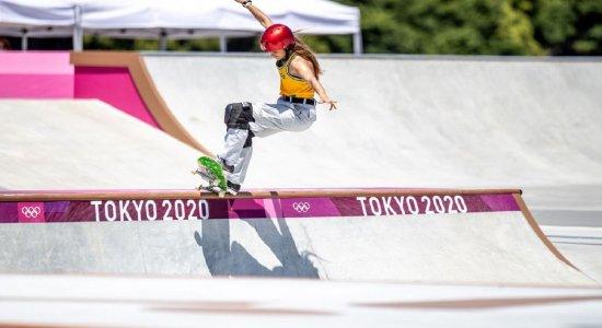 Brasil fica fora do pódio no skate park dos Jogos Olímpicos de Tóquio