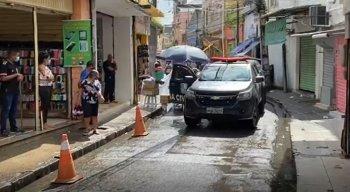 Operação aconteceu na região Central do Recife