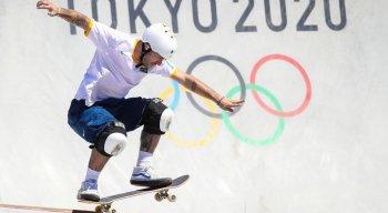 O brasileiro Pedro Barros garantiu medalha de ouro nas Olimpíadas de Tóquio