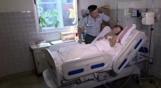 Clarinha está internada no Hospital da PM, em Vitória, no Espírito Santo