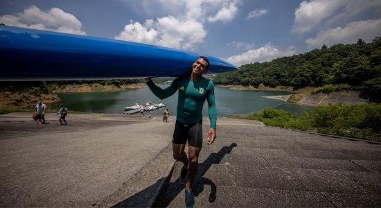 Isaquias Queiroz atropela na bateria e se classifica para as semifinais; saiba dia e horário da próxima disputa da canoagem