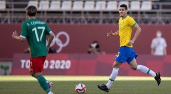 Nino é titular absoluto na zaga da seleção brasileira olímpica e vai em busca da medalha de ouro em Tóquio