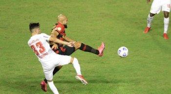 Sport e RB Bragantino ficam no empate, na Ilha do Retiro
