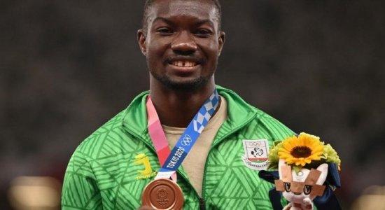 Conheça o atleta que conquistou 1ª medalha olímpica do seu país, após quase 50 anos de participações de Burkina Faso em Olimpíadas