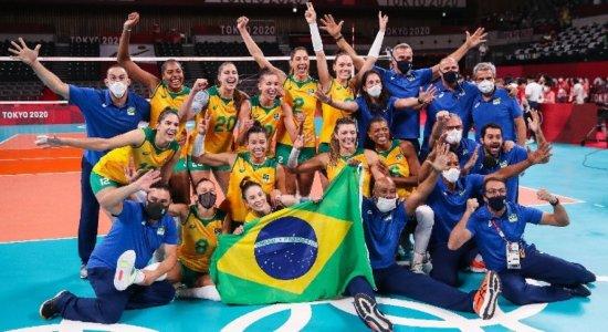 Quartas de final, semifinais e final do vôlei feminino nas Olimpíadas 2021: confira tabela, horários e onde assistir