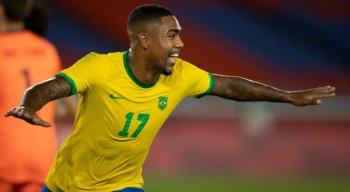 Malcom marcou o gol da vitória do Brasil