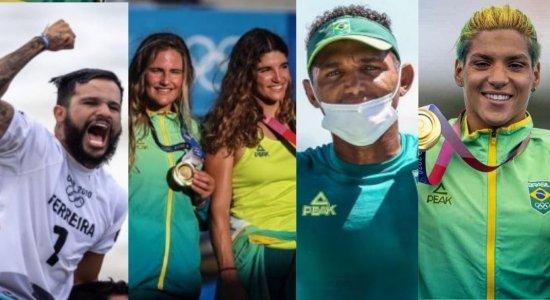 Poseidon é Brasileiro! Com várias medalhas de ouro, Brasil domina águas de Tóquio nas Olimpíadas; veja