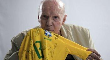 Zagallo foi tetracampeão mundial como jogador, técnico e coordenador da seleção brasileira