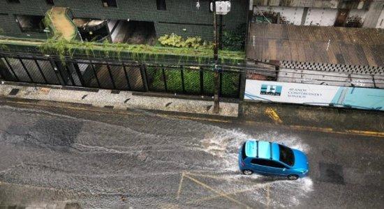 Pontos de alagamento em Recife hoje: Veja onde o trânsito está mais complicado por causa da chuva nesta quarta-feira