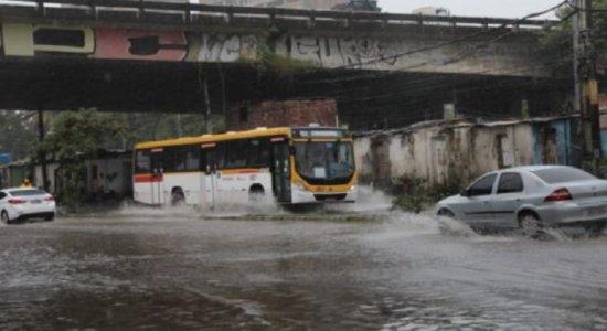 Chuva: Saiba onde há pontos de alagamento no Grande Recife nesta quarta (11)