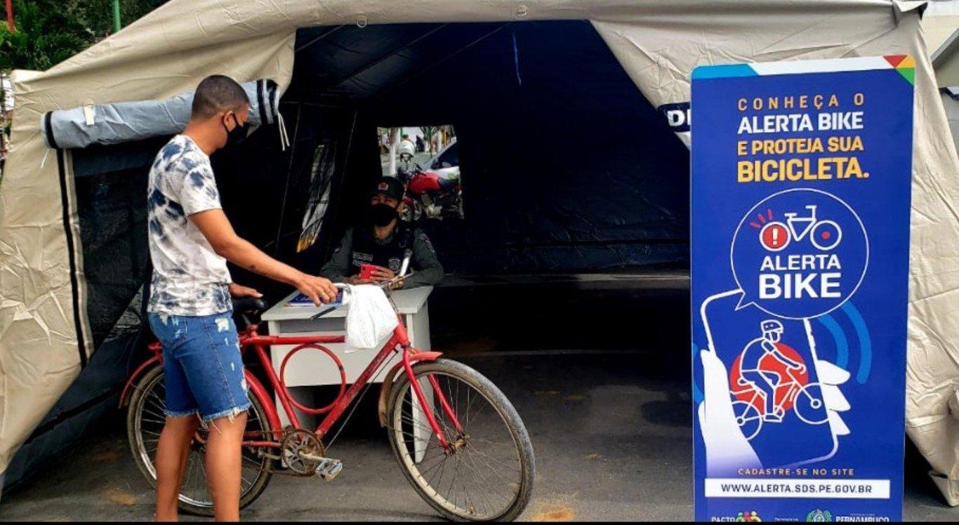 O 'Alerta Bike' foi implementado em Limoeiro