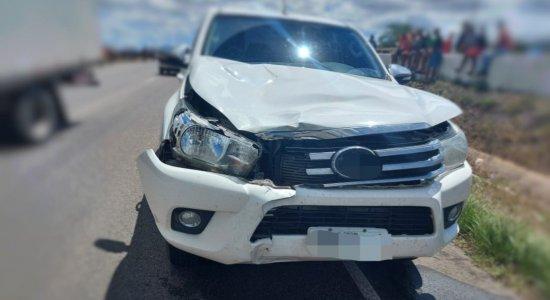 Acidente ocorreu na BR-104, em Caruaru