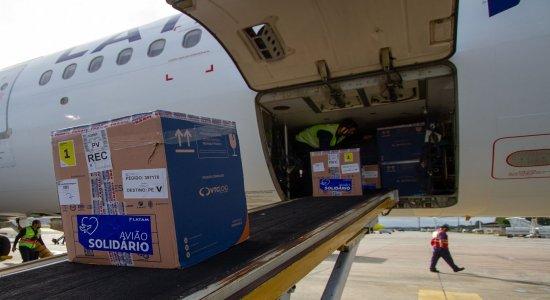 Covid-19: Pernambuco recebe mais 231.080 doses de vacinas; veja para que grupo elas vão