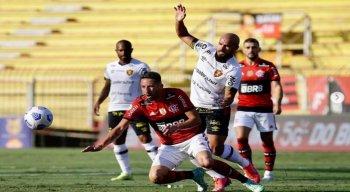 Sport jogou mal e saiu derrotado no Rio de Janeiro
