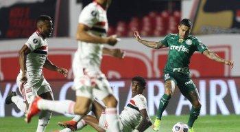 Palmeiras e São Paulo se enfrentam pela Libertadores da América