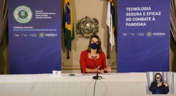 Secretária executiva de Desenvolvimento Econômico, Ana Paula Vilaça.