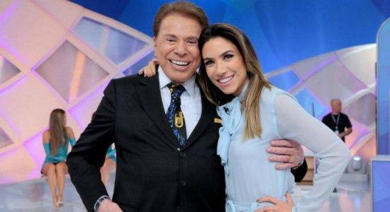 Patrícia Abravanel faz homenagem durante programa para Silvio Santos e diz que ele venceu a covid-19