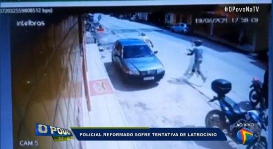 Vídeo mostra momento em que dupla armada atira contra policial em Olinda