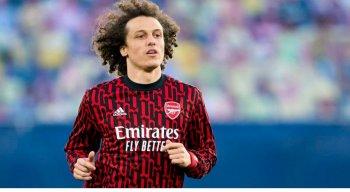 Zagueiro David Luiz, de 34 anos, está sem clube desde que deixou o Arsenal