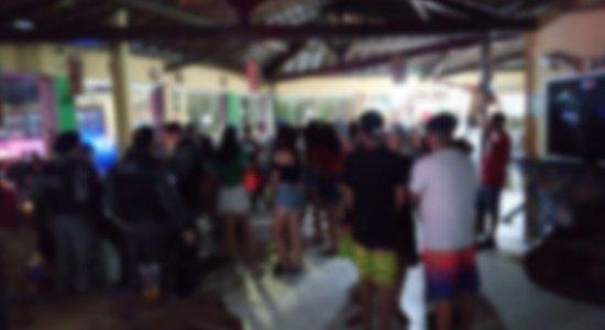 Em Caruaru, festa com mais de 500 pessoas é encerrada durante fiscalização