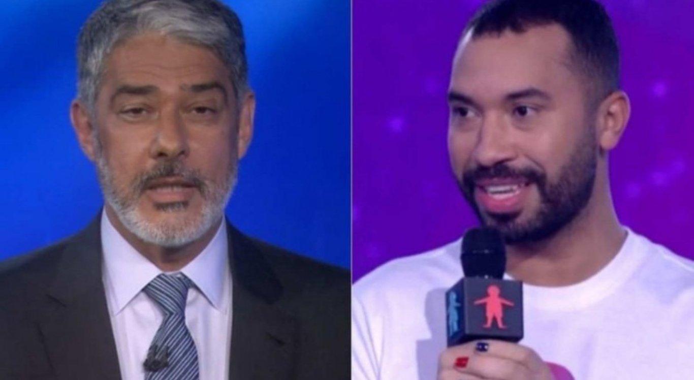 Ex-BBB Gil do Vigor manda recado para William Bonner no Jornal Nacional